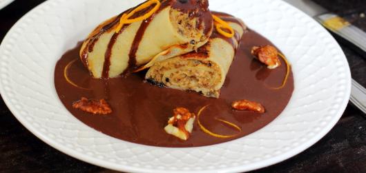 Млинці а-ля Гундель: рецепт найсмачнішого десерту