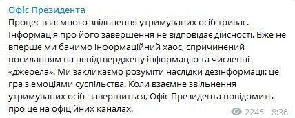 Зеленский сказал, где сейчас Сенцов