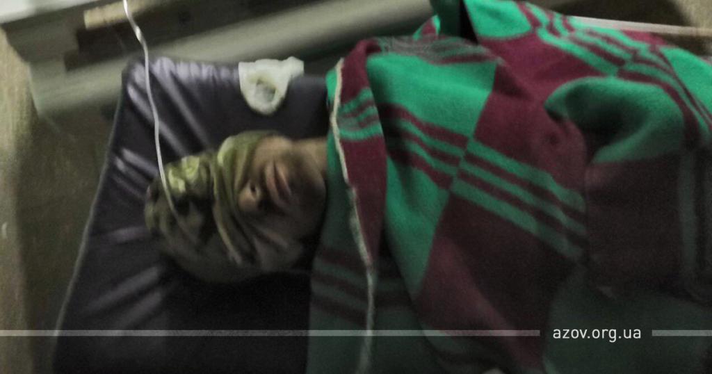 """""""Азов"""" показал захваченного боевика и рассказал, как уничтожил еще четверых"""