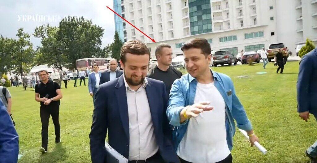 Охранник Зеленского в Турции защищал его от россиян, видео