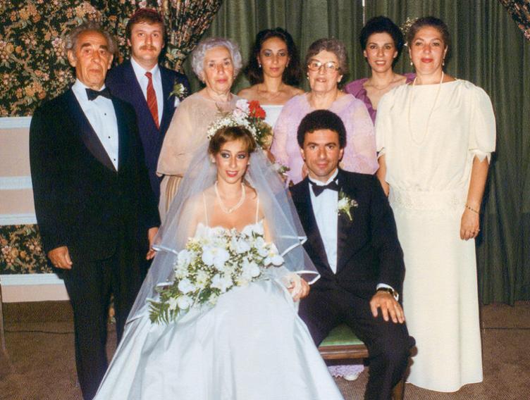 Первая свадьба Аллы Вербер