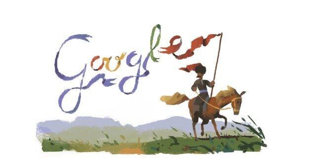 Google сделал свое лого кириллицей в честь Пантелеймона Кулиша, фото