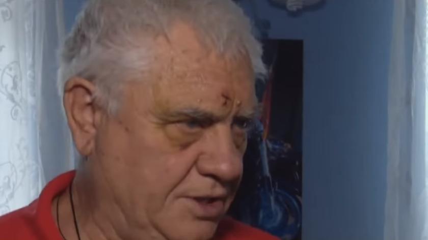 Потерпілий пенсіонер після лікування