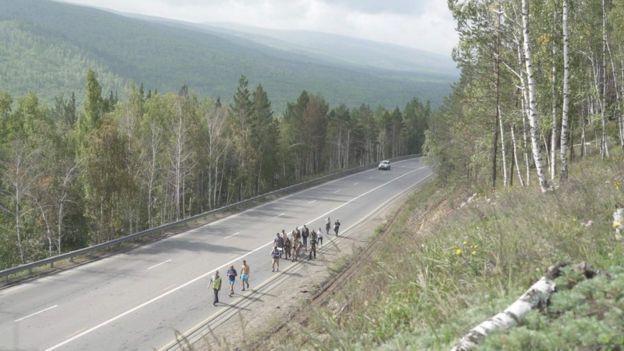 Олександр Габишев і його послідовники йдуть в Москву