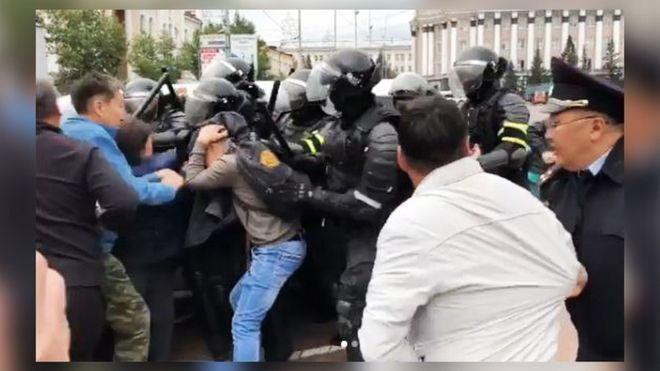 Масові протести в Улан-Уде