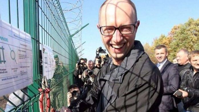 """""""Это сзади стена Яценюка?"""" Два экс-премьера попали на фотобомбу"""