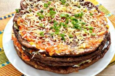 Рецепт найсмачнішого печінкового торта