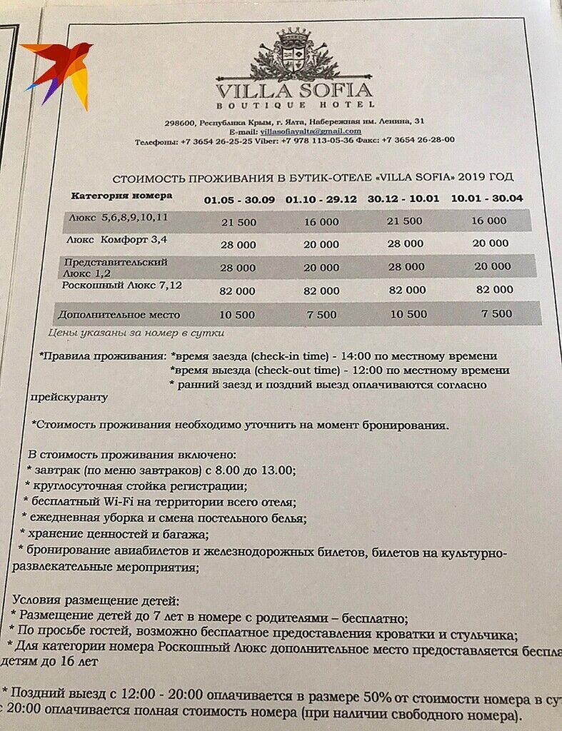 """Софія Ротару потрапила в """"кримський компромат"""""""