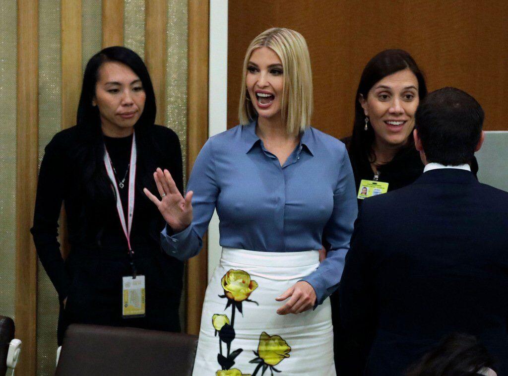 Иванка Трамп показала грудь: скандальные фото, и как Дональд Трамп отчитал ее