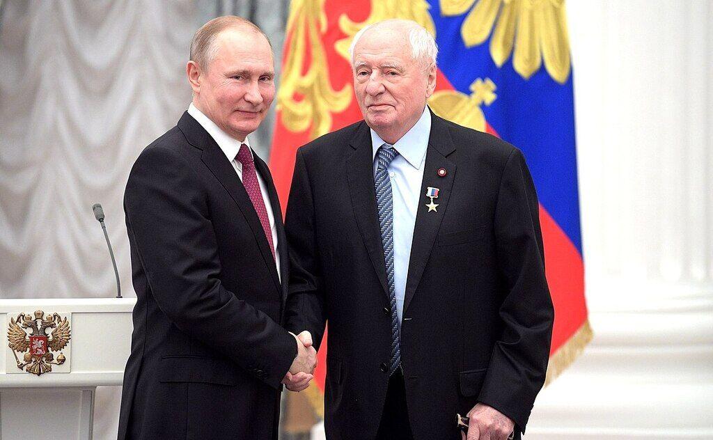 Володимир Путін і Марк Захаров