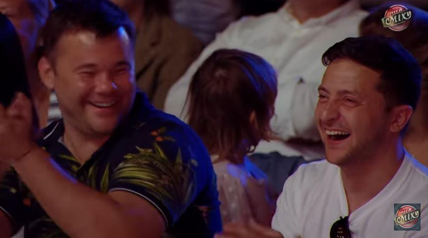 У Зеленского устроили шоу унижений Порошенко и Вакарчука: Зеленский и Богдан в зале надрывались от смеха