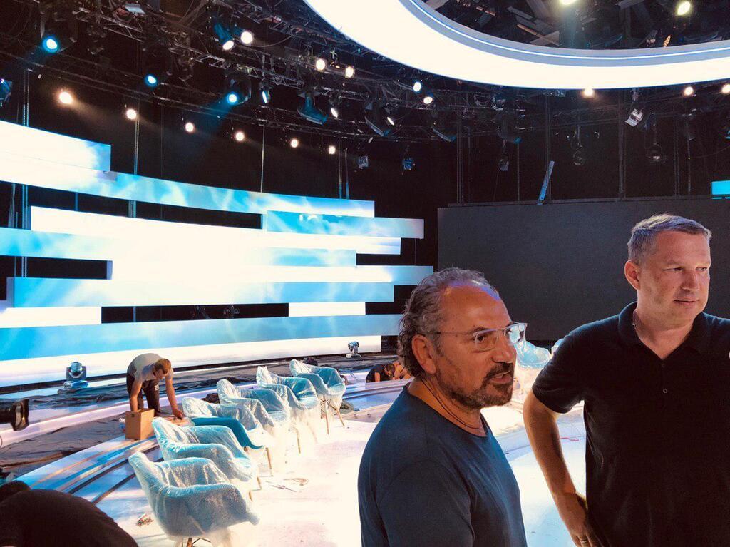 """Савік Шустер повертається на екрани з програмою """"Свобода слова"""", фото та відео"""