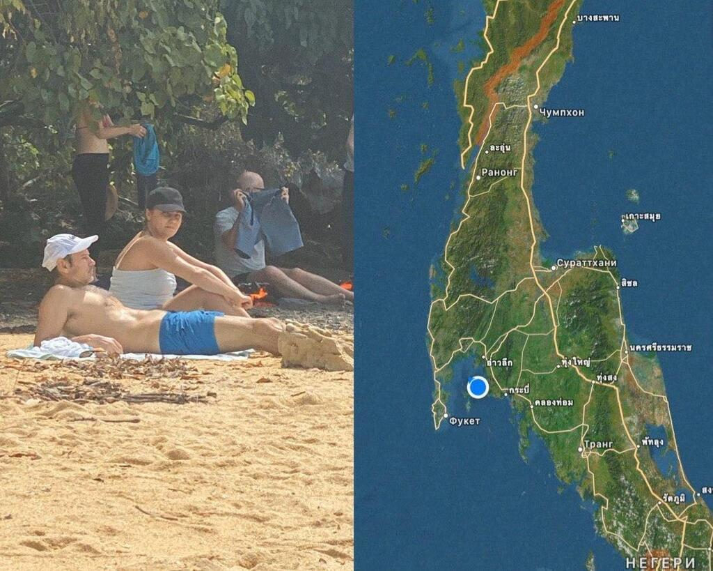В сеть попали фото и видео с отдыхающим в Таиланде Вакарчуком