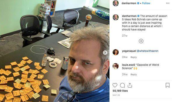 """Дэн Хармон работает над созданием 5 сезона """"Рика и Морти"""""""