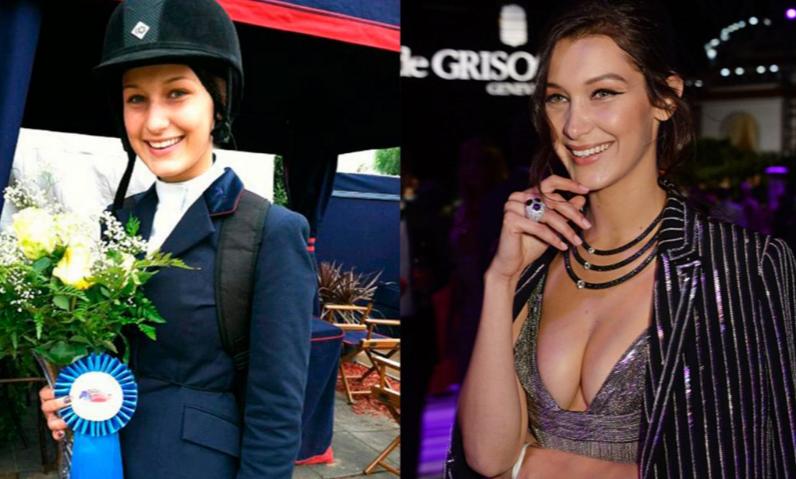 Белла Хадид на фото до и после пластики: какая у нее сейчас фигура, рост и вес