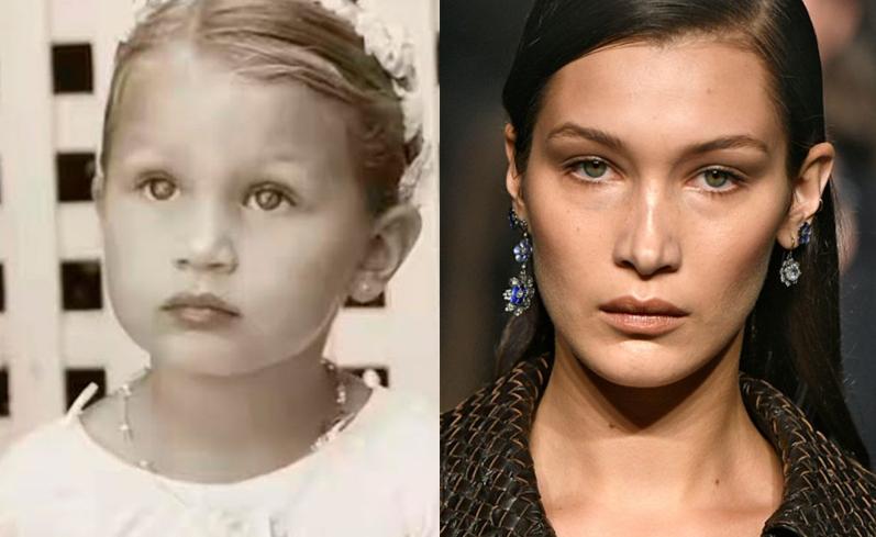 Белла Хадід на фото до і після пластики: яка у неї зараз фігура, зріст і вага