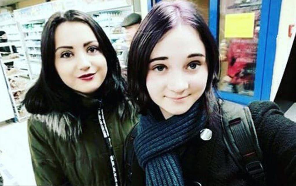 Мария Камынина и Ева Лысенко