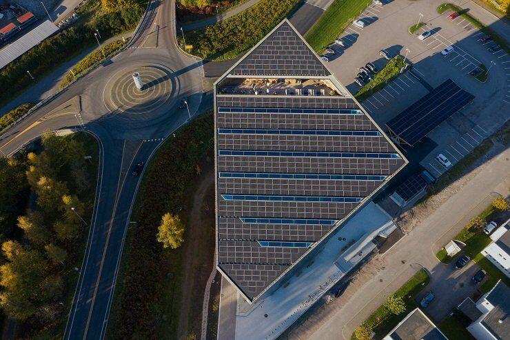 У Норвегії створили енергоефективний офіс, який виробляє більше енергії, ніж споживає