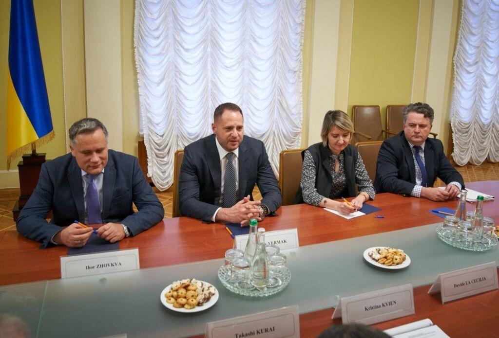 На пути к миру: Ермак на встрече с послами G7 ни разу не вспомнил об агрессии России