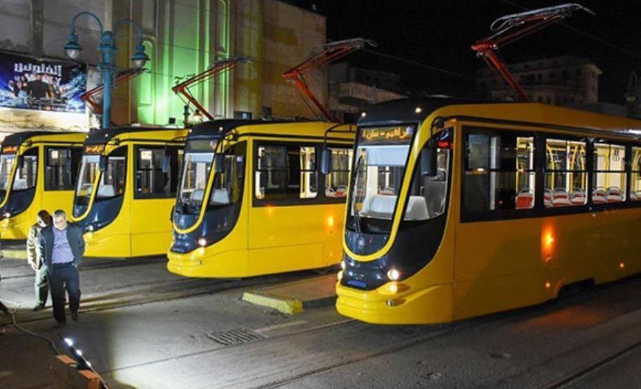 У Єгипті презентували партію нових українських трамваїв