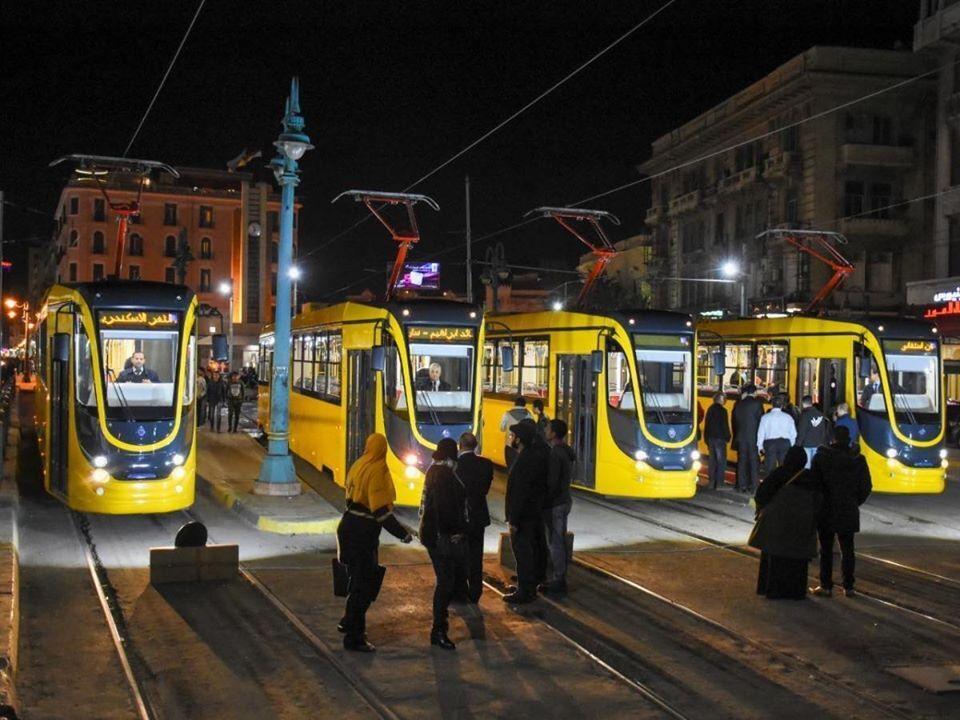 В Египте презентовали партию новых украинских трамваев