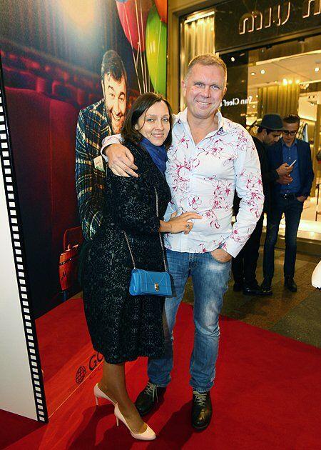 Андрій Колесников з дружиною