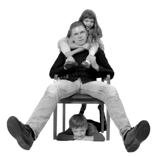 Андрій Колесніков з дітьми