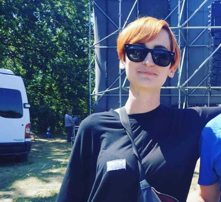 Солистка Go_A Екатерина Павленко (Monokate)