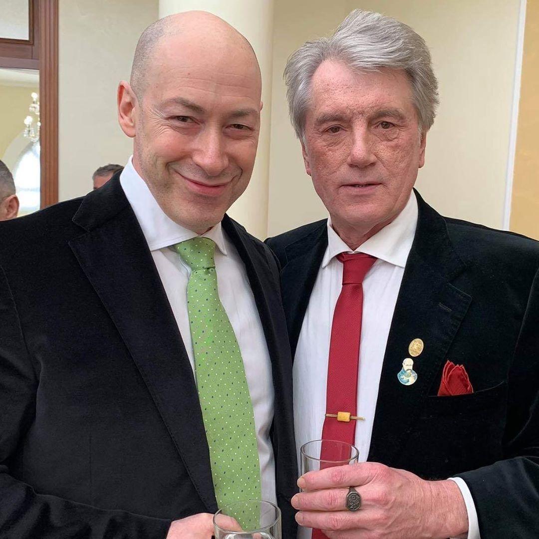 Дмитро Гордон і Віктор Ющенко