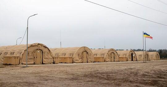 """Палаточный комплекс """"Аляска"""""""