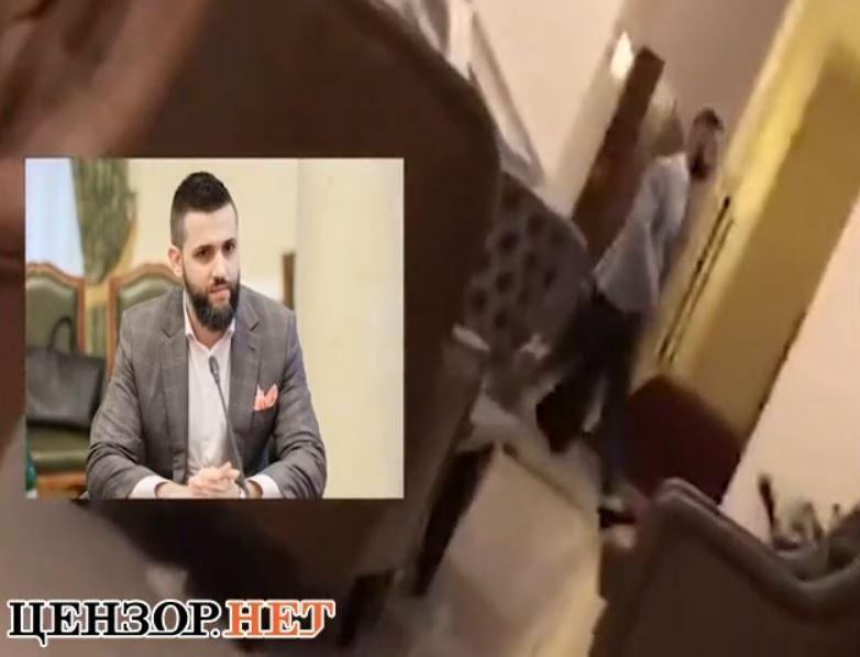 Руководителя таможни Нефедова сняли на встрече с Павлюком, которого называют влиятельным контрабандистом