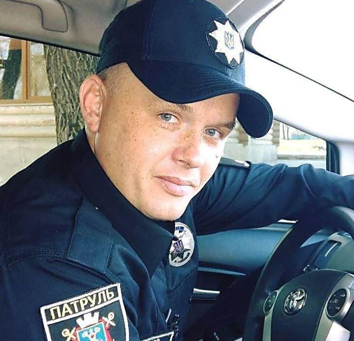 Капітан поліції Антон Сімаков