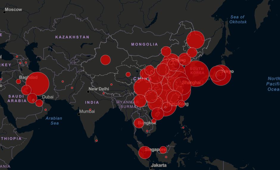 Коронавирус в Беларуси, России и Украине: карта и последние данные