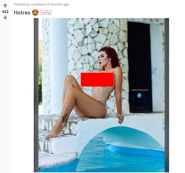 Модель Аманда Ніколь потрясла мережу своїми формами, фото і відео