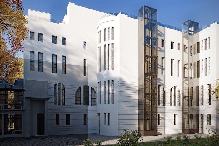 Візуалізація фасаду після реставрації