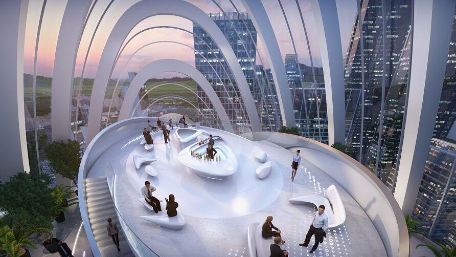 Zaha Hadid Architects разработает проект главного офиса для производителя смартфонов OPPO