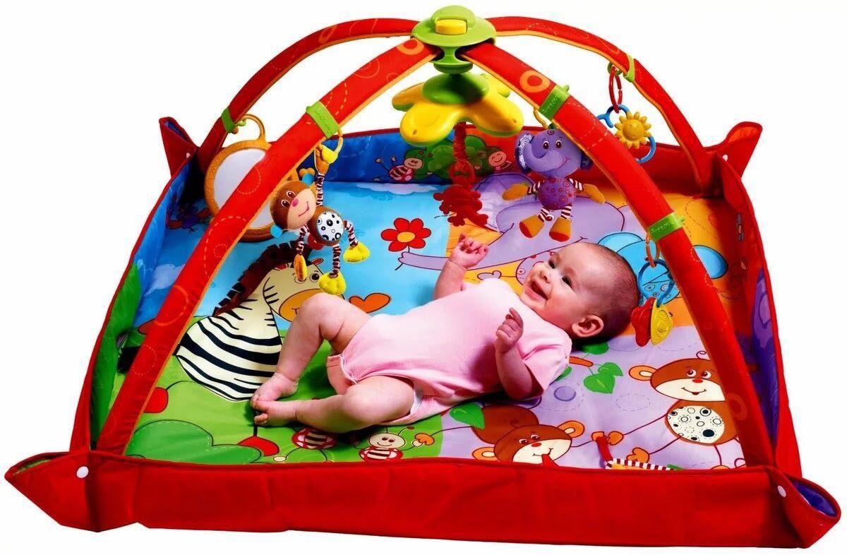 5 причин купить развивающий коврик ребенку