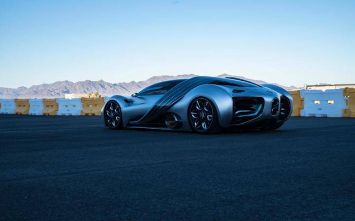 У США представили воднево-електричний суперкар (фото, відео)
