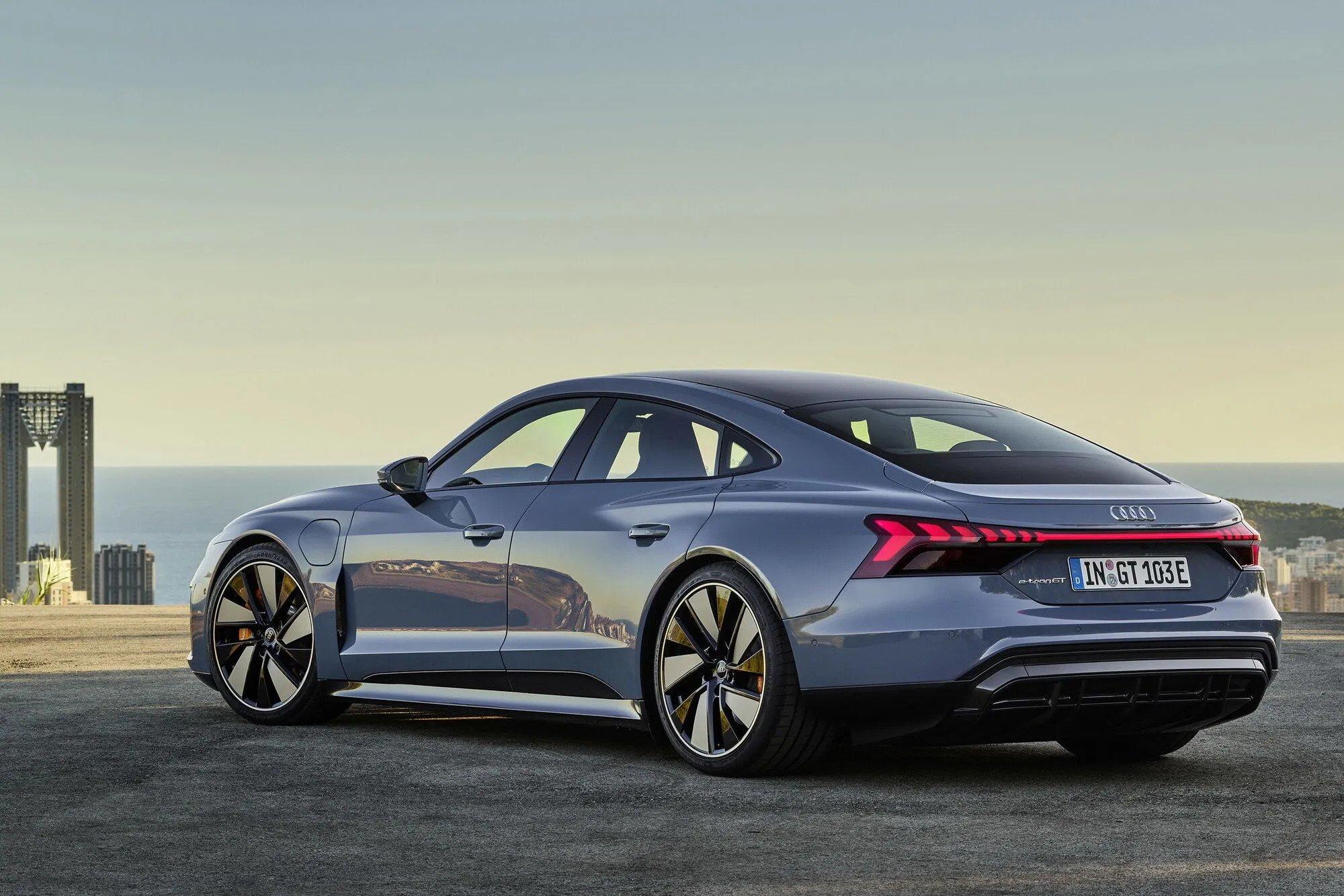 Audi e-tron GT: найпотужніша серійна Аudi