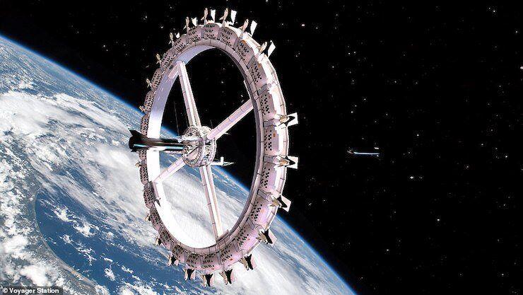 Американська компанія планує відкрити орбітальний готель у 2027 році