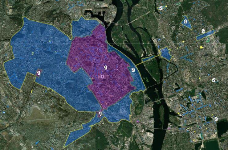 Київ затвердив нові паркувальні зони, а центральну — розширив утричі