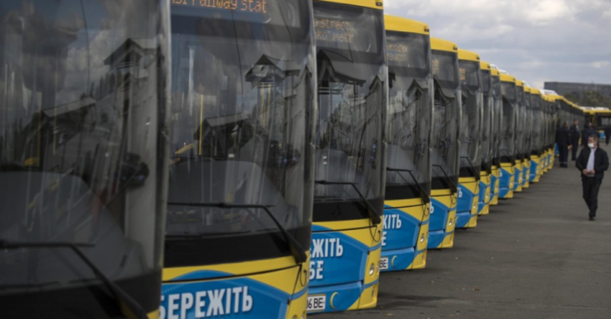 Київ отримав 50 нових сучасних автобусів, незабаром отримає ще 150