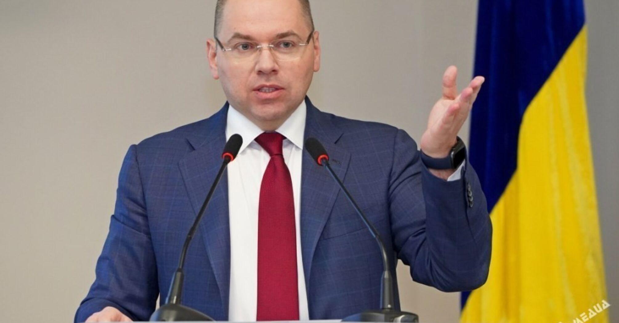 Больными коронавирусом в Украине занята почти половина коек, – Степанов