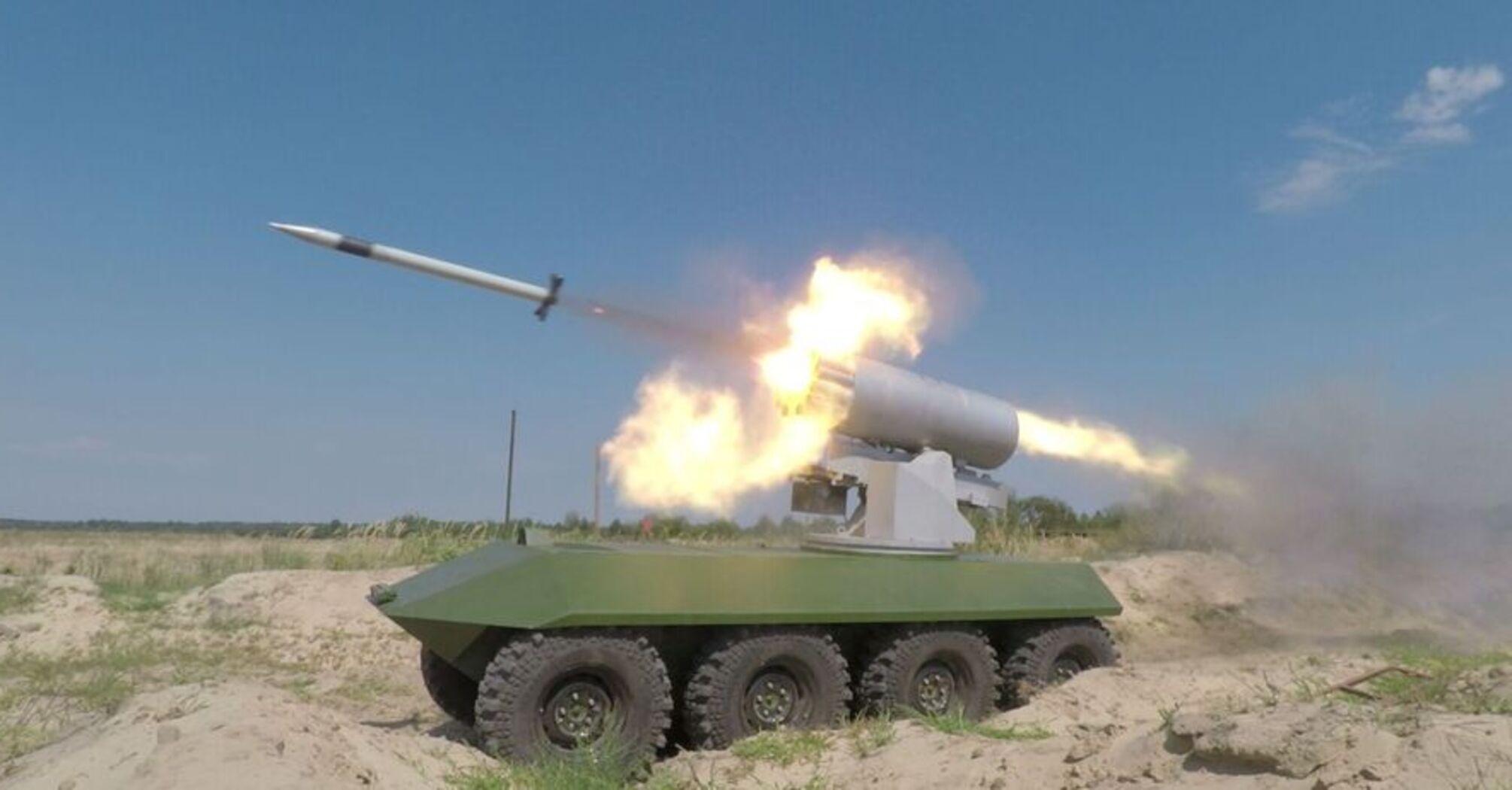 В Украине успешно завершили испытания новой ракеты. Видео