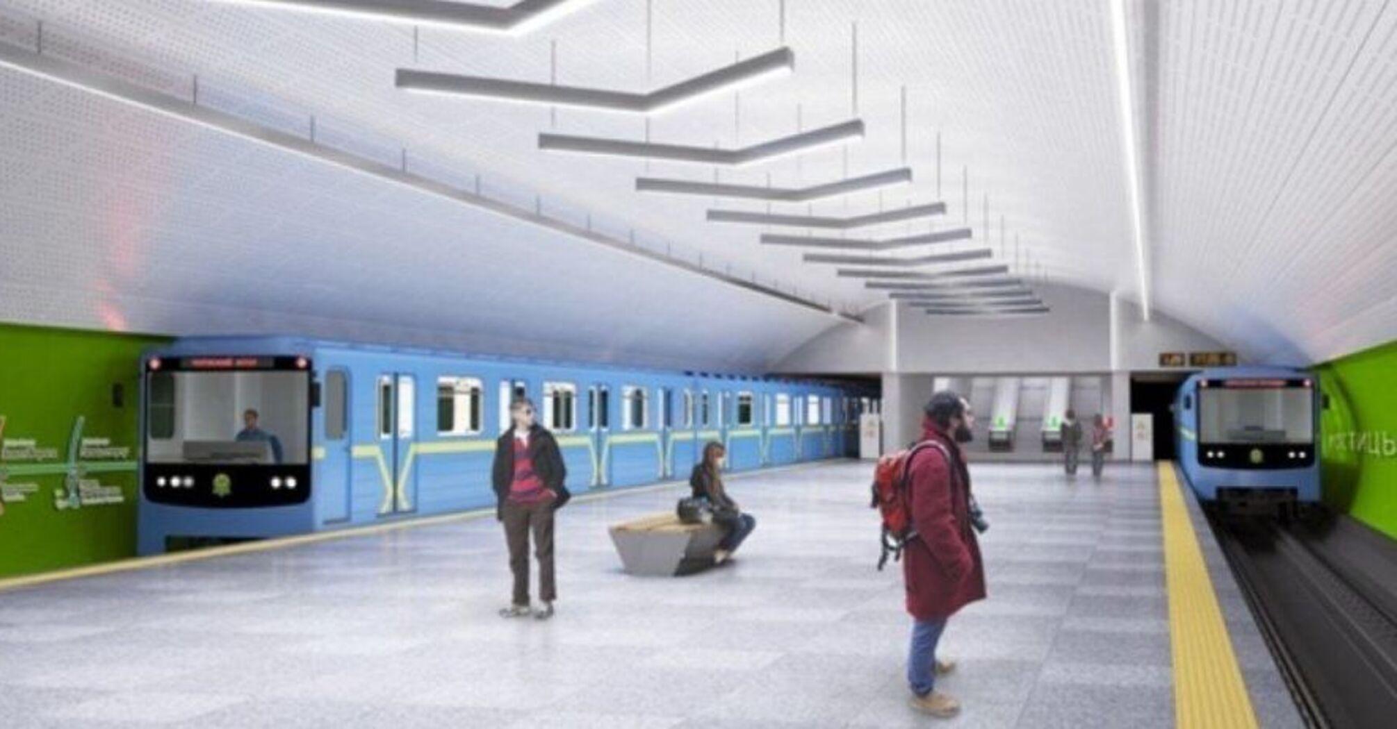 У Києві відкриють дві нові станції метро у 2021 році