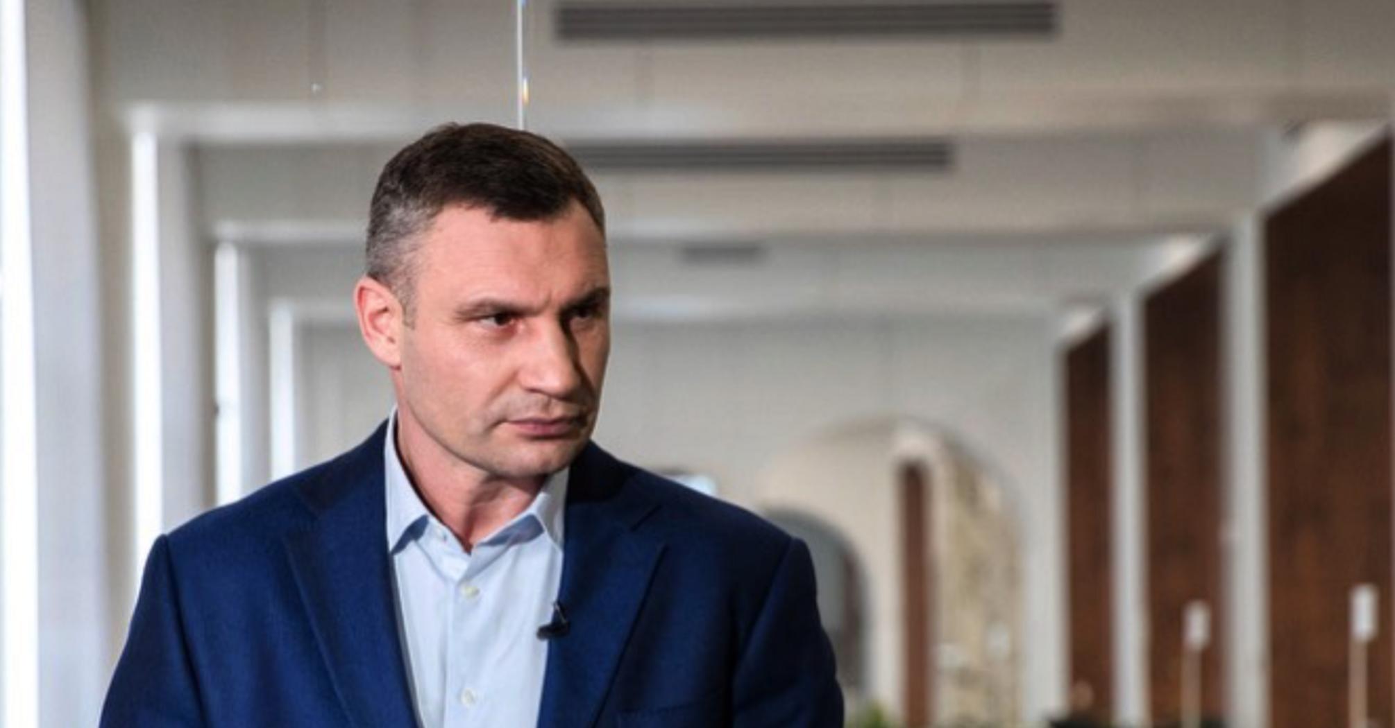 Введення строгого карантину в Києві буде крайнім заходом – Кличко