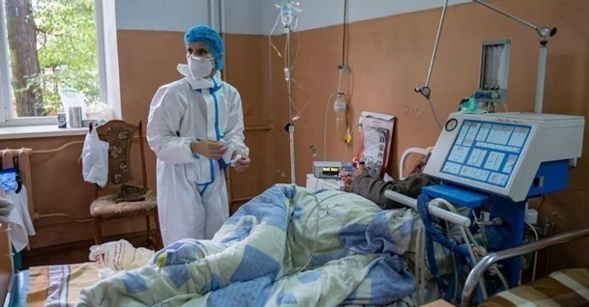 У МОЗ назвали кількість госпіталізованих з COVID