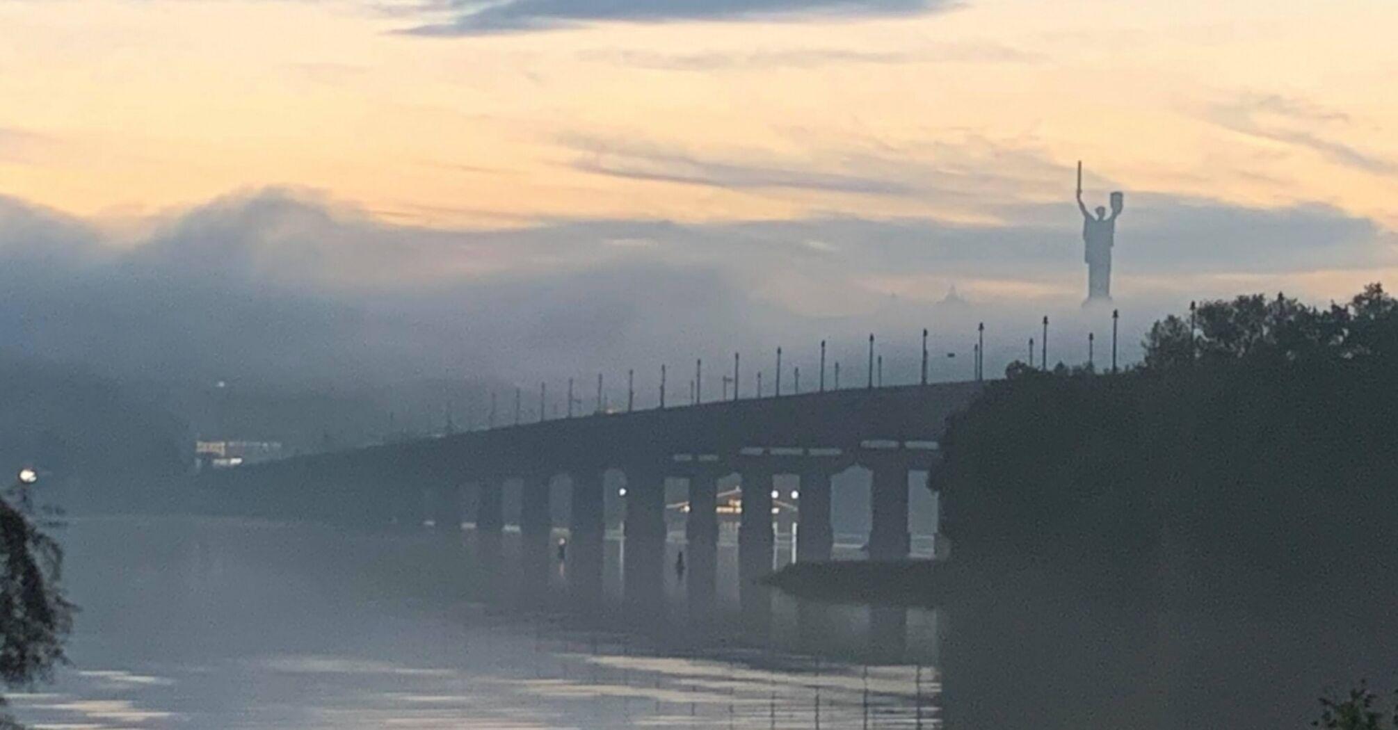 В Украине ухудшится погода: синоптики предупредили о тумане и гололеде