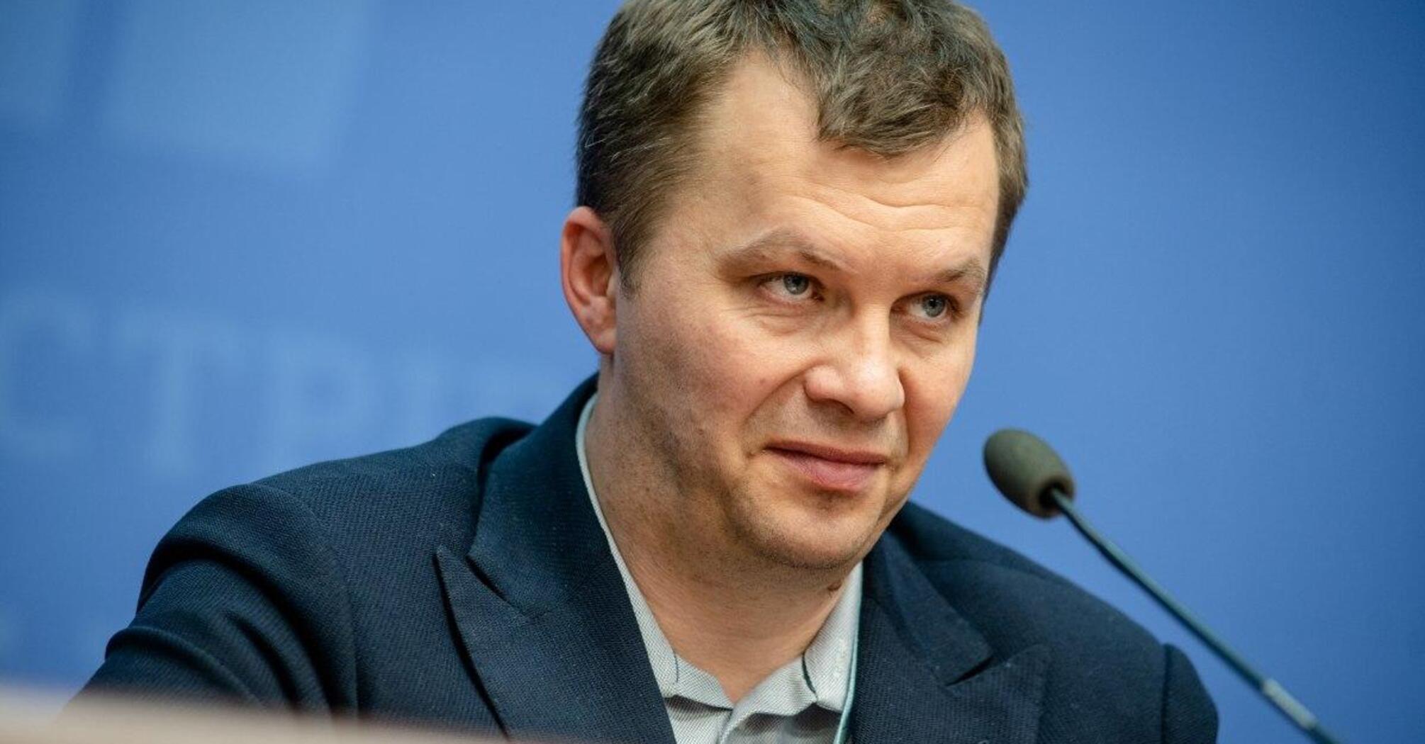 Милованов: деятельность правительства Гончарука – суперуспешна и суперэффективна