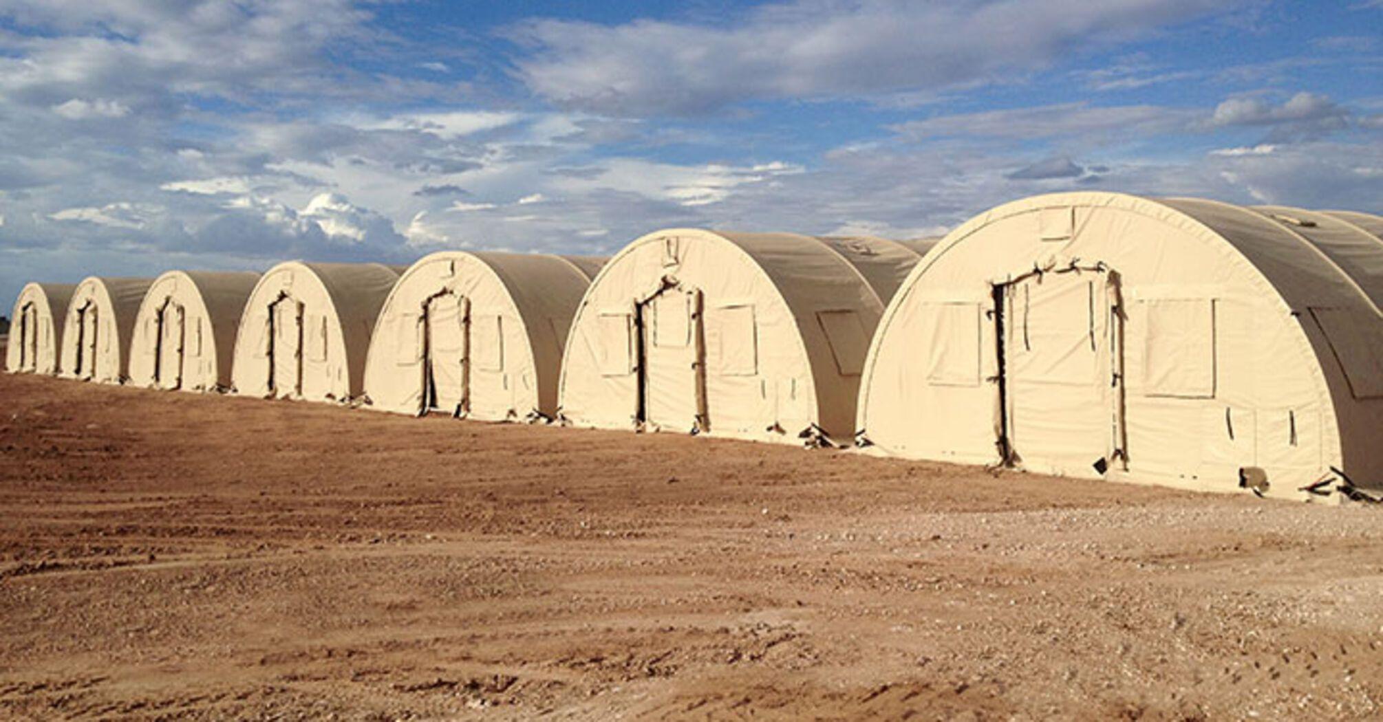 США передали украинским военным палаточный комплекс за $1,5 млн, фото